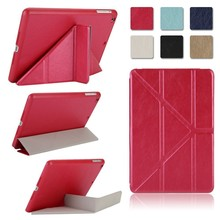2015 New 8 Colors Smart Case For iPad mini 1/2/ 3 Retina wake-up sleep Slim Stand Leather Back Cover 2pcs/lot