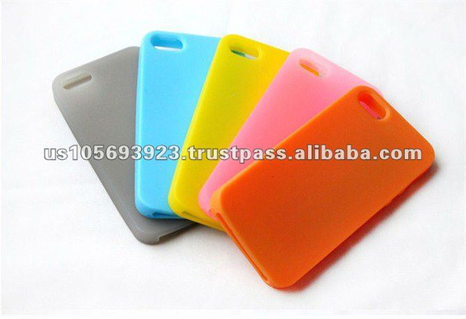 Silicone case mobile phone case soft case for Iphone 5 wholesale price