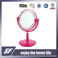 Table Decorative /Cosmetic / Plastic/ Magnifying / LED light up/Colourful Makeup Mirror