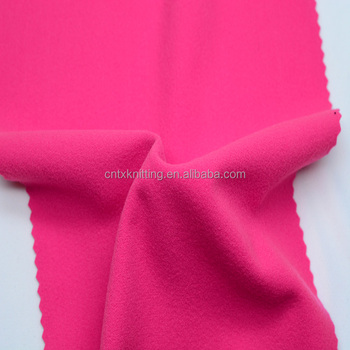 factory direct blused fabric for tracksuits, 1.5meter knitted warp polyester lining fabric