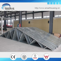 cyclone proof steel truss roof