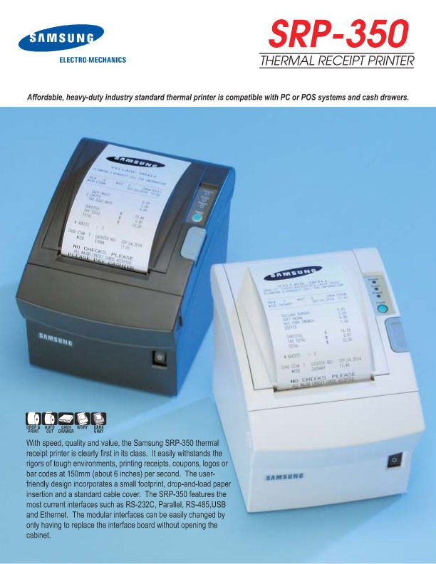 Thermal Receipt Printers
