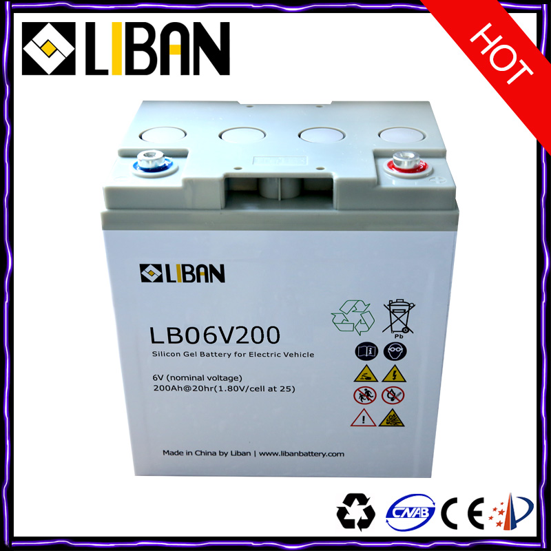 6V 200Ah Best Golf Lead Acid Battery