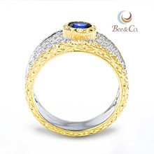Black Stone Lady Finger Gold Ring Design For Man
