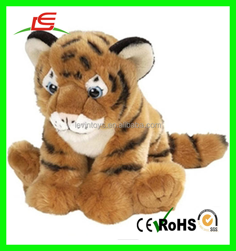 High quality siberian tiger doll simulation animal toy plush baby toys kawaii tiger