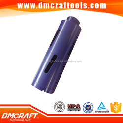 High Efficient Laser Welded Diamond Core Drill Bit For Wall Drilling