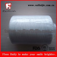 High Tension UHMWPE/Polymer/Polyester/Nylon/PTFE dental floss thread