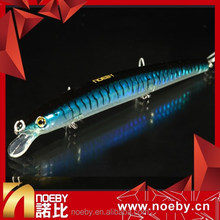 NOEBY 130mm 13.5g floating artificial sea swimbait