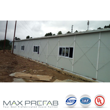 PVC sliding windows prefabricated house labour camp kuwait