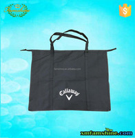 recycle non woven reusable shopping bag with zipper