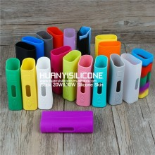 2015 China factory wholesale Eleaf Isitck silicone electronic smoke products 20W 30W Silicone Case/box