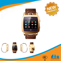 Most Popular new products CST Android 4.2.2 Smart watch Phone dual core 1.54 Inch Toucscreen Watch mobile phone wearable device