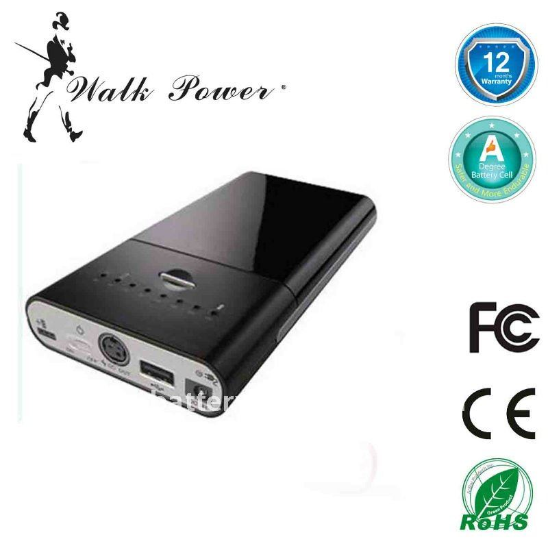60W mobile power Backup battery for iPad/iPod and all digital devices