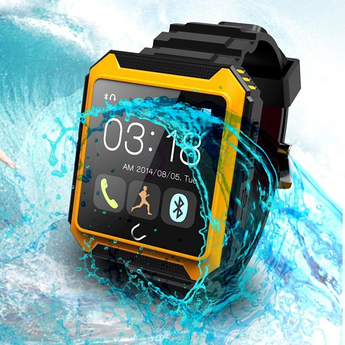 2015 touch display waterproof smart watch phone <strong>U2</strong>
