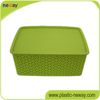 PP Good quality custom cheap plastic box for clothes storage