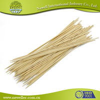 Factory sale round art bamboo sticks for meats