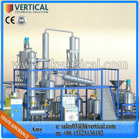 VTS-DP waste engine oil distillation equipment, oil purifier plant, used engine oil recycling machine