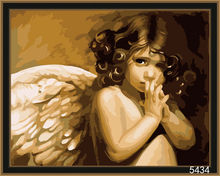 Digital Angel wings oil painting by numers (40x50cm)
