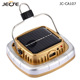 JECTE Hot Sell portable solar rechargeable camping lantern for camp