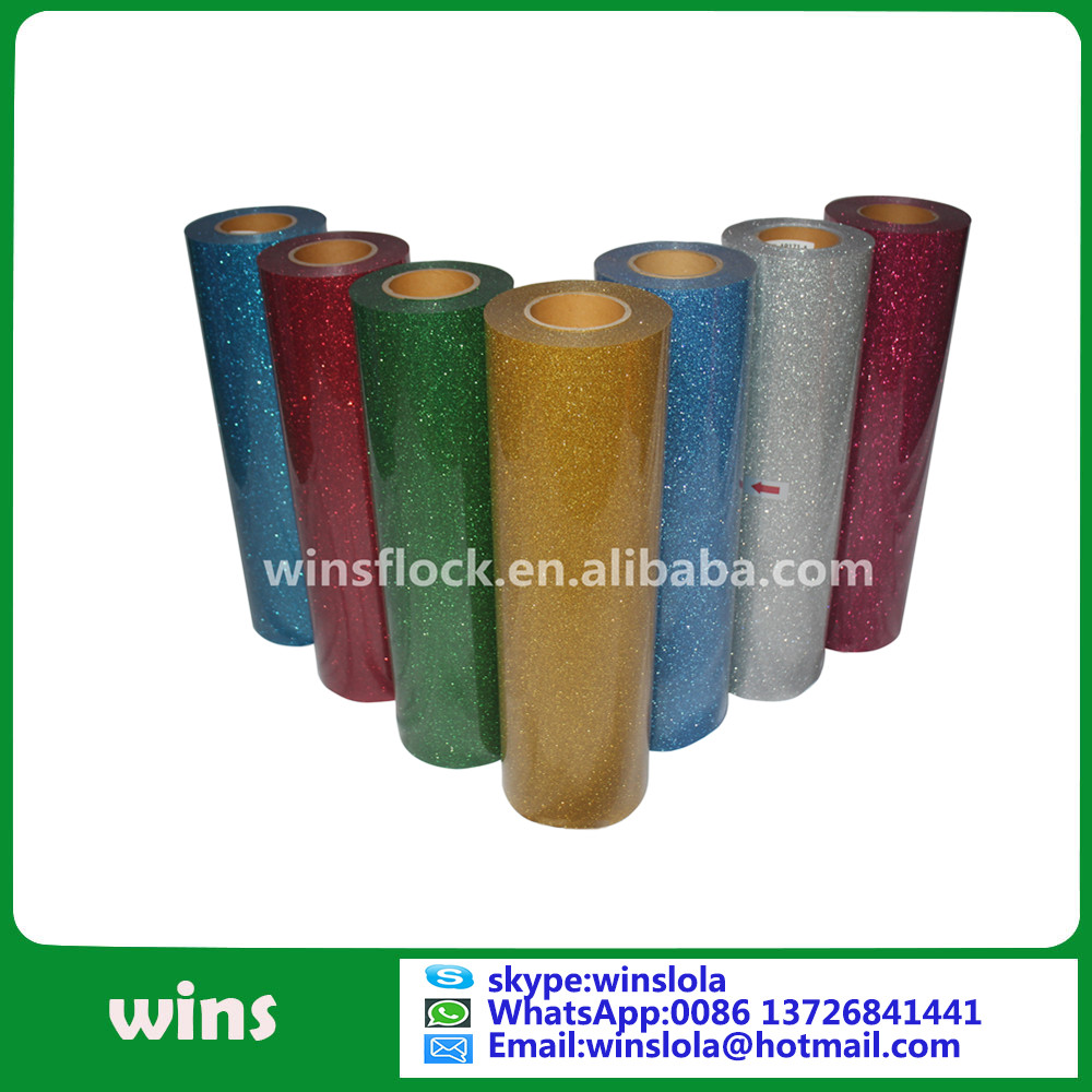 korea High quality Flex glitter transfer