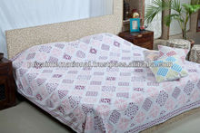 indian printed flower bedding set home