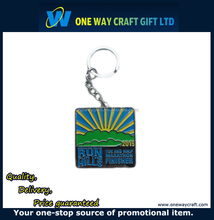 Custom Engraved Metal Make Your Own Logo Key Chain