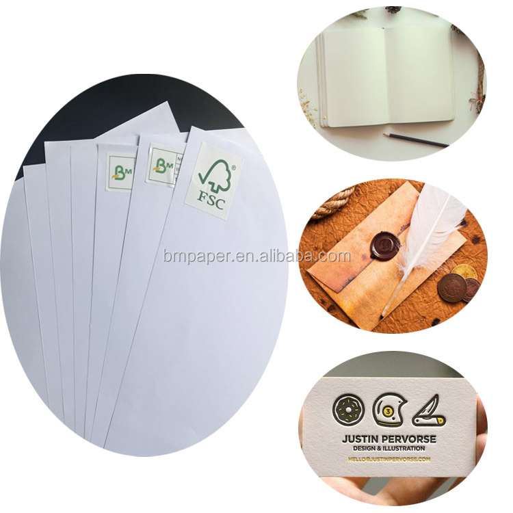 Best offer FSC certificate 70g uncoated whit school textbook offset paper
