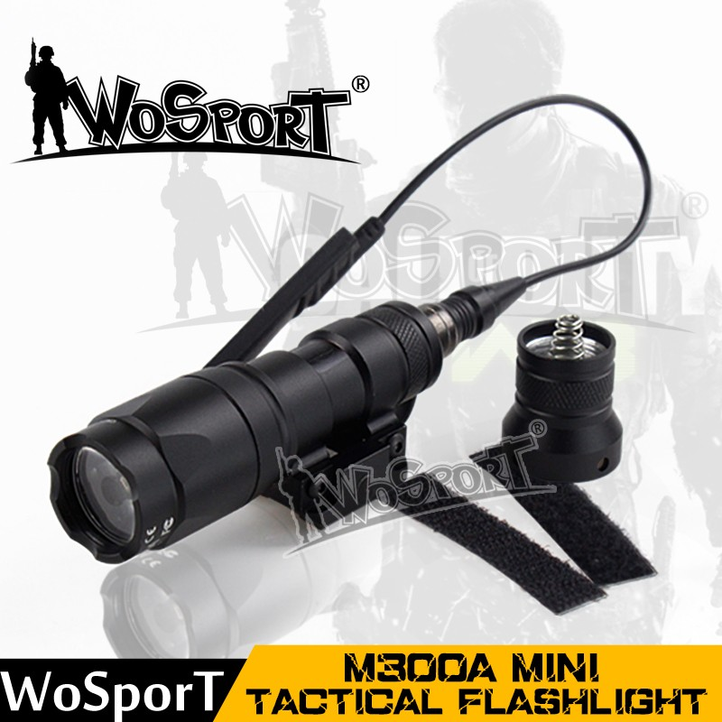 WoSporT aluminum alloy multifunctional mini flashlight tactical for sale
