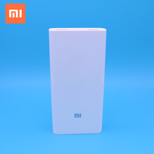 Xiaomi mi 20000mah power bank 2C polymer slim portable powerbank QC 3.0 quick charge for samaung mobile
