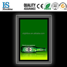Neon Light Box , High Tech Laser Dotting Panel Crystal Light Box
