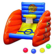 inflatable arcade-style basketball game