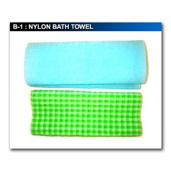 NYLON BATH TOWEL