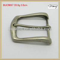 China belt factory zinc alloy pin buckle for belt,belt buckle wholesaler