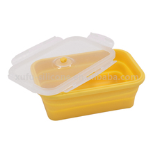 Professional manufacture stackable silicone airtight baby food storage containers