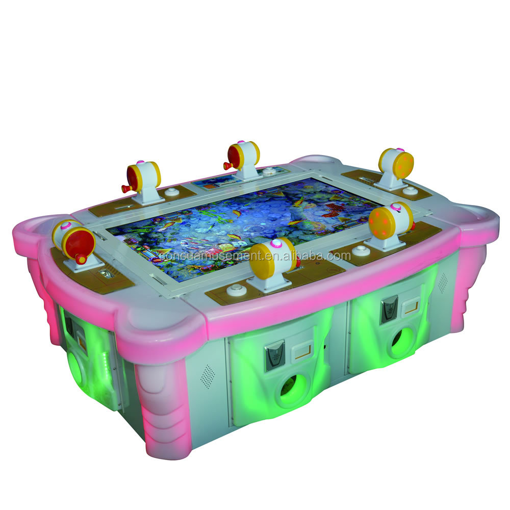 New design profitable fishing game machine for adults and kids play
