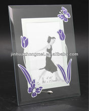 Best Wishes Curved Glass Photo Frame For Graduation Souvenirs