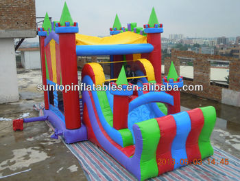 hot sales durable and exciting inflatable bouncy castle games for kids