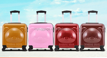 Fation ABS+PC president kids trolley school bag