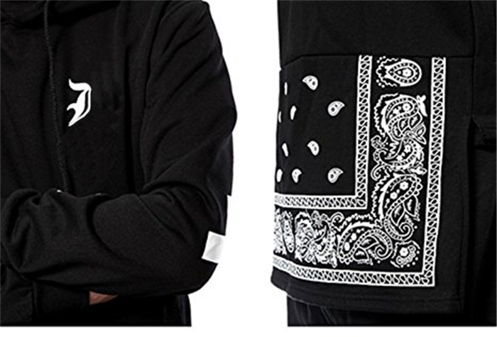 Custom Tribal Print Drop Tail Hoodie 100 Peruvian Organic Cotton Hip Hop Plain Sweat Suits Men Hoody Mens Hoodies