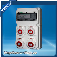 Plastic Distribution Boxes Industrial socket box Industrial plug&socket IP67 Compact power box