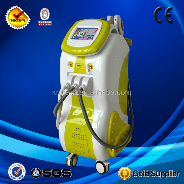 5 in1 cavitation+IPL+nd yag laser+RF professional massage equipment