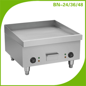 Commercial kitchen equipment industrial square electric griddle