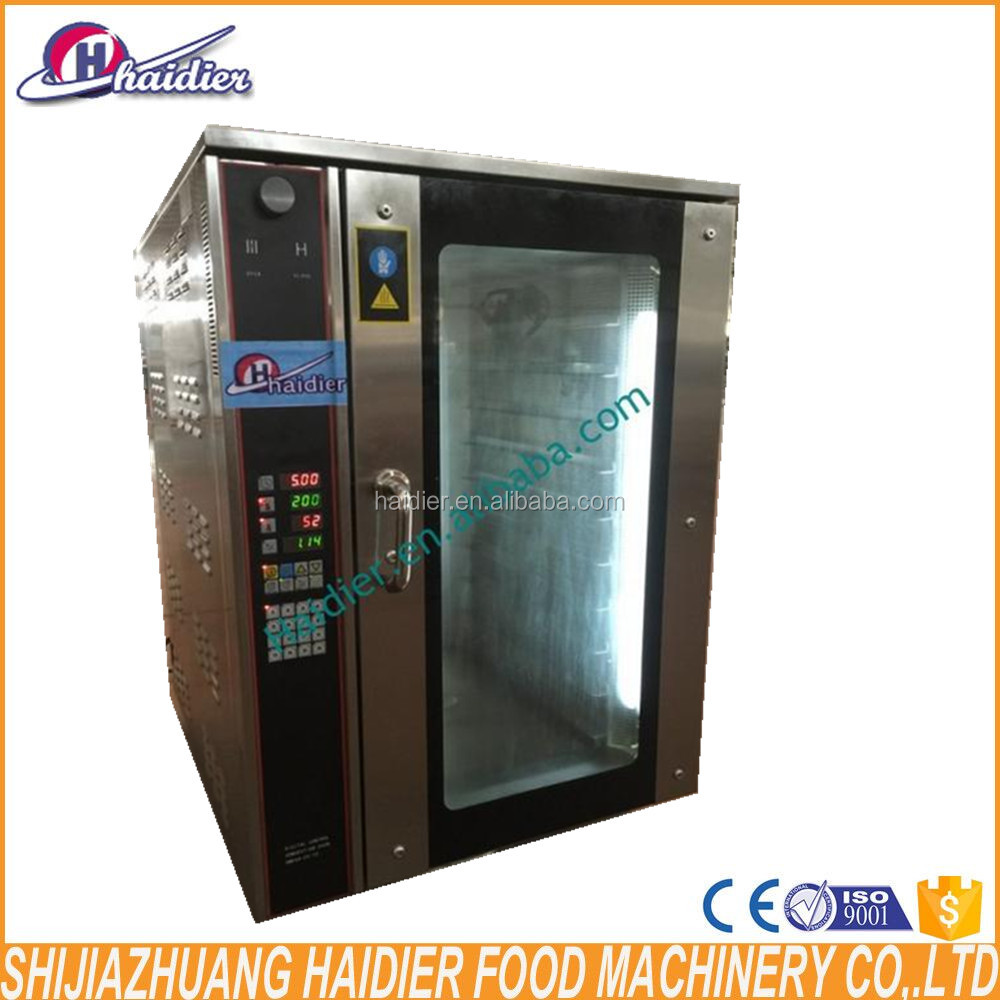 commercial mini bakery equipment gas convection oven bread baking machine