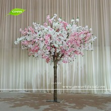 GNW BLS1605005 New hot Low price Wilte and Red Artificial Cherry Blossom tree for Wedding Decoration
