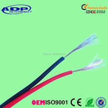 2 core speaker wire red and black cable with competitive price