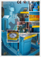 Z148W Jolt squeeze Molding Machine with Multiple Ram Shooting Head in Metal Casting sand molding machinery