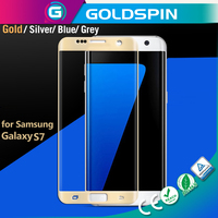 Real Phone Color! Full Cover 3d Glass Screen protector for Samsung Galaxy S7 Tempered Glass Screen Protector