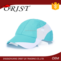 Unisex Adjustable Sun Racing Cap Outdoor Quick Dry Race Hat Running Sport Baseball Cap from Orist