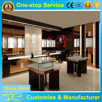 High end modern shopping mall design mini store for jewelry kiosk store interior design