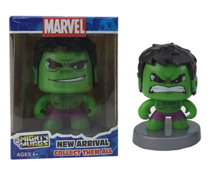 Marvel Green Giant Face Change Doll <strong>Q</strong> Edition Toys of Action Figure